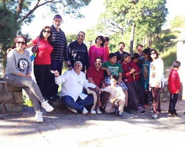 Kasauli holiday package for group